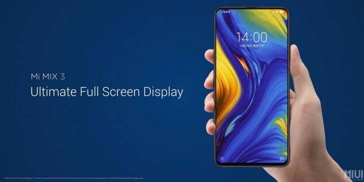 Xiaomi Mi Mix 3 — первый флагманский смартфон-слайдер на рынке
