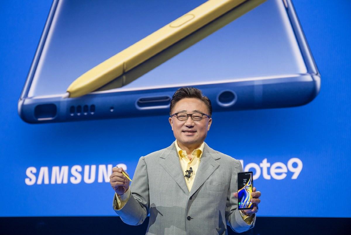 DJ Koh анонсирует Galaxy Note 9