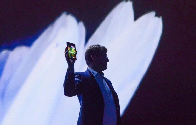 Samsung показали складной смартфон на CES 2019