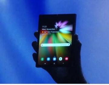 Google добавили в Android поддержку гибких экранов
