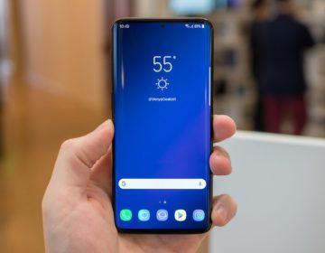 Утечка Samsung Galaxy S10 — экран с вырезом и ультразвуковой сканер отпечатков пальцев
