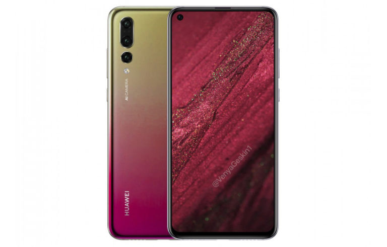 Живые фото Huawei Nova 4 утекли до анонса