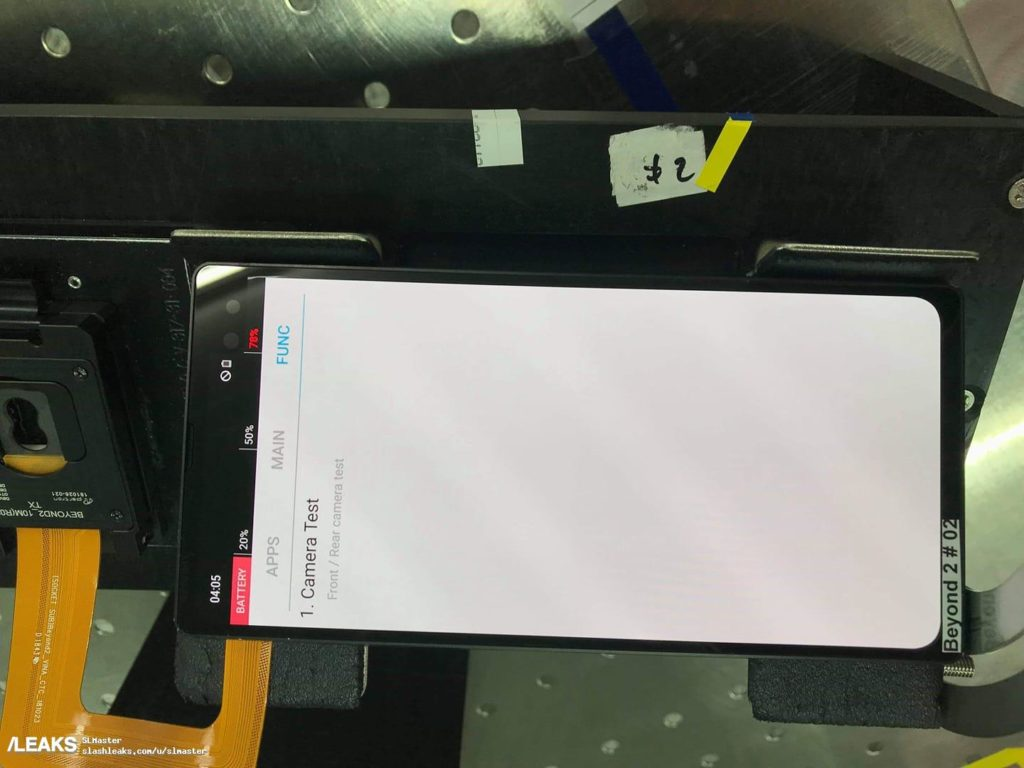 Samsung Galaxy S10 получит вырез в углу экрана