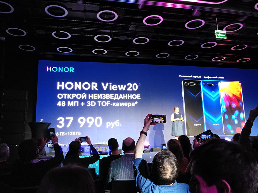 Honor представили в России Honor 20 View