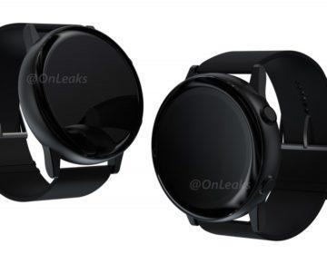 Картинка часов Samsung Galaxy Sport раскрывает подробности дизайна