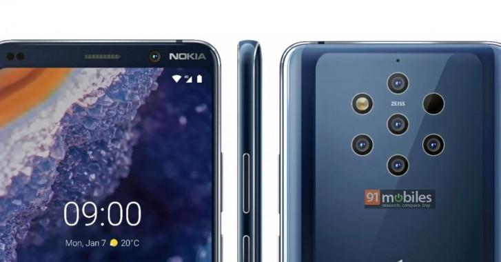 Пресс-рендеры Nokia 9 PureView