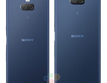 Новые рендеры Sony Xperia XA3 и XA3 Ultra