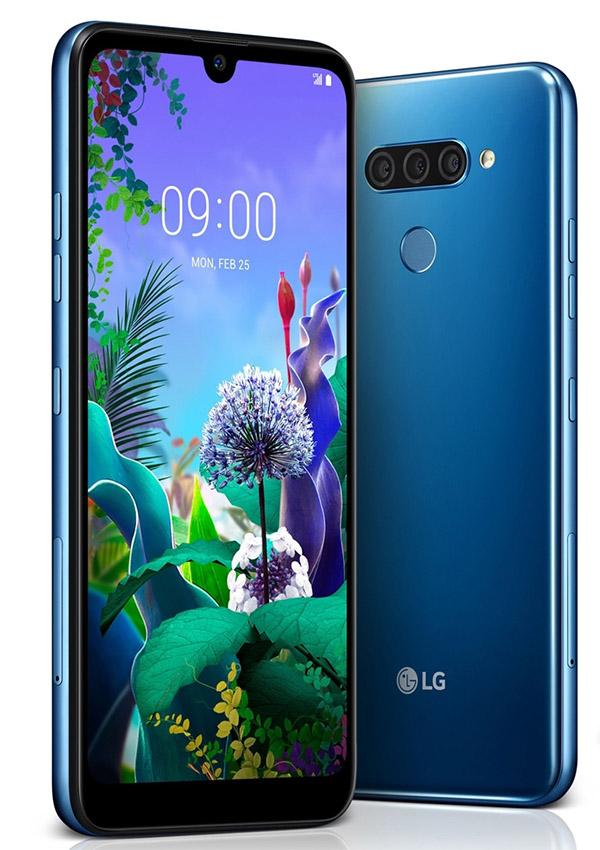 LG анонсировали три бюджетных смартфона