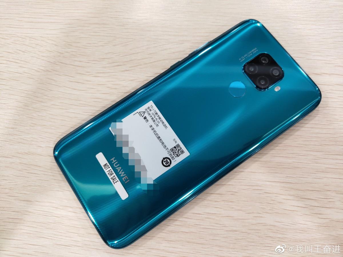 Фотографии Huawei Mate 30 Lite утекли в сеть