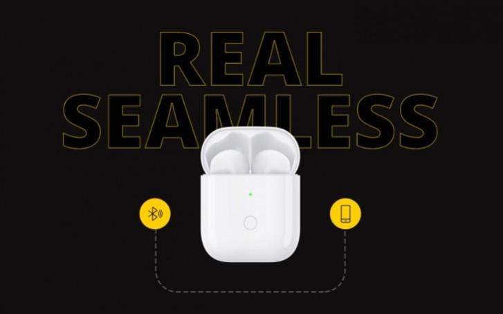 Realme представили беспроводные наушники Buds Air с поддержкой беспроводной зарядки